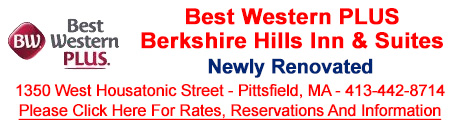 Hotels In The Berkshires, The Berkshires, Best Western Pittsfield, MA