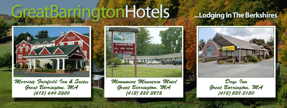 Hotels in the Berkshires, Hotels in Pittsfield MA, Hotels in Lenox MA, Hotels Berkshire County, Northern Berkshire Hotels, Central Berkshire Hotels, Southern Berkshire Hotels